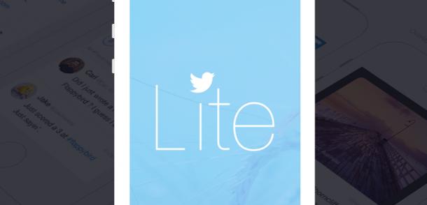 Twitter Lite, la versión light de su cliente