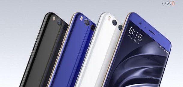 Nuevo Xiaomi Mi 6: especificaciones