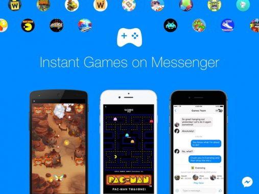Facebook Messenger añade más de 50 juegos nuevos