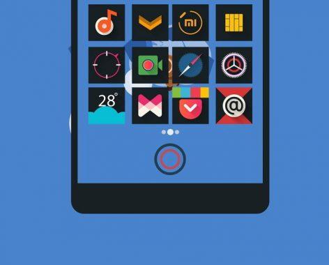 3 packs de iconos con un diseño minimalista