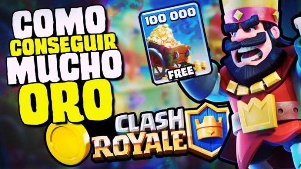 Trucos para conseguir oro gratis en Clash Royale