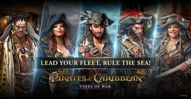 Disponible el nuevo juego de Piratas del Caribe para Android
