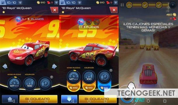 Descargar Cars 3 para Android gratis