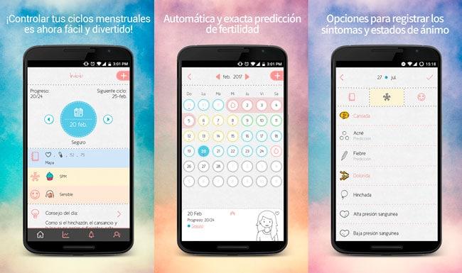 Las mejores aplicaciones Android para monitorear tu periodo menstrual