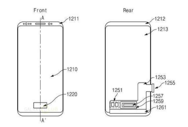 sensor de huellas en el Galaxy S9