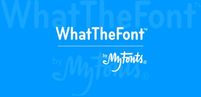 WhatTheFont: identifica tipografías de imágenes en tu smartphone