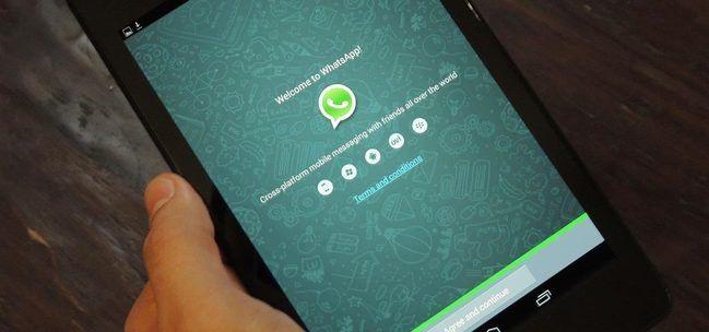 WhatsApp pronto tendría versión oficial para tablets