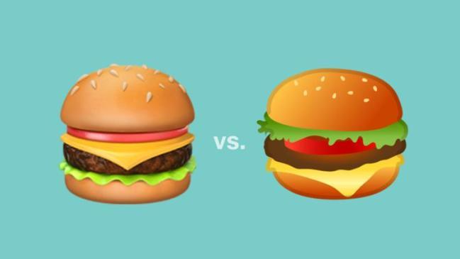 emoji de hamburguesa