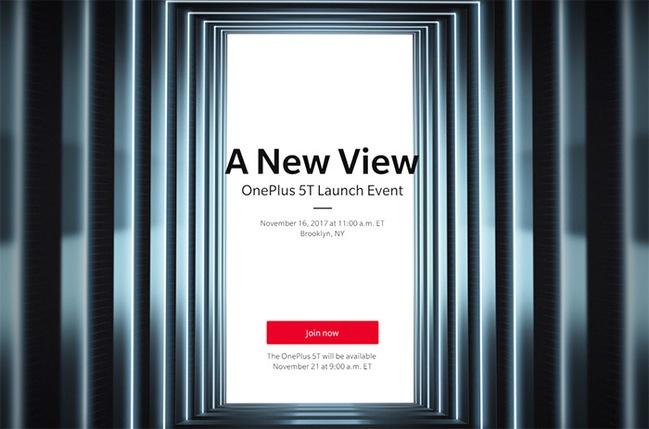 OnePlus 5T: fecha y lugar de presentación