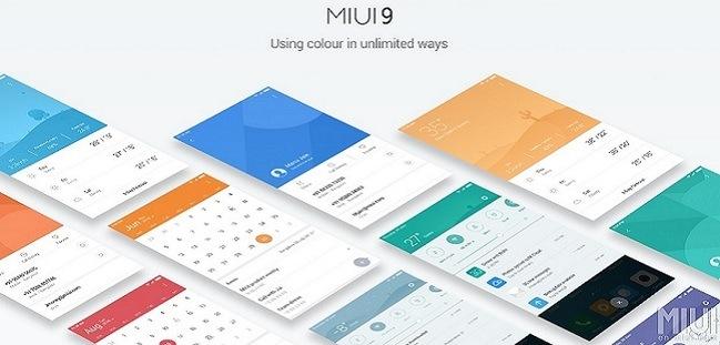Xiaomi hace oficial la actualización de MIUI 9