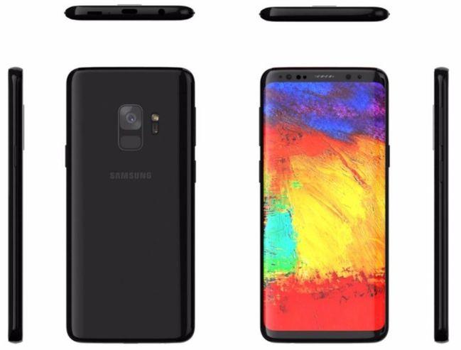 El diseño final del Samsung Galaxy S9 según Forbes