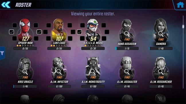 Marvel Strike Force: es el nuevo RPG de Marvel para Android