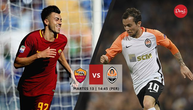 Roma vs Shakhtar, Octavos de Final de la UEFA Champios League ¡En vivo por internet!