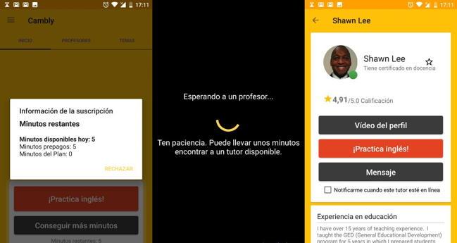 Cambly: aprende inglés con profesores nativos en tu smartphone