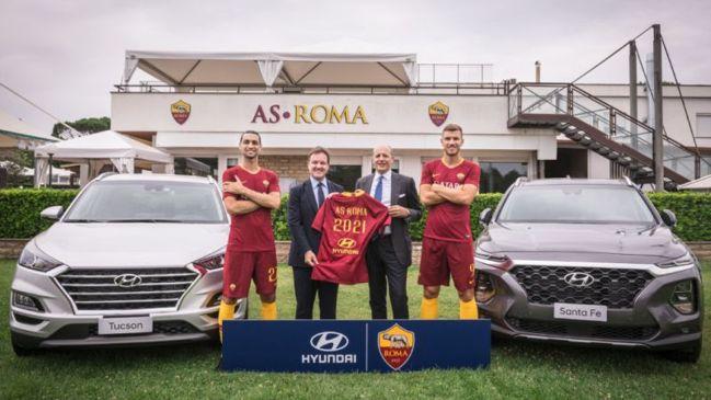 Hyundai Motor es nuevo patrocinador de la AS Roma