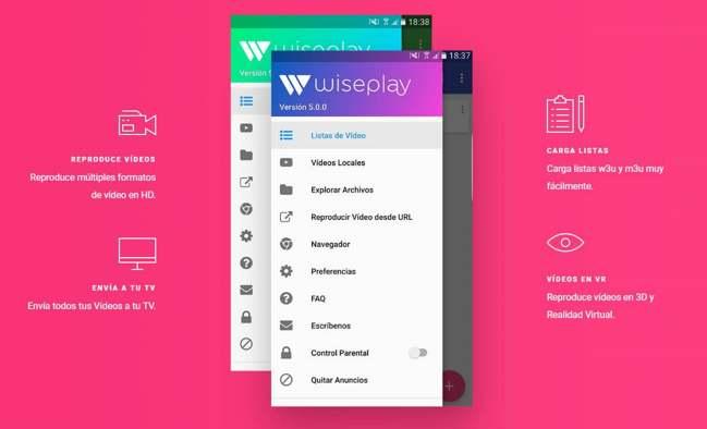 Wiseplay: descargar e instalar listas