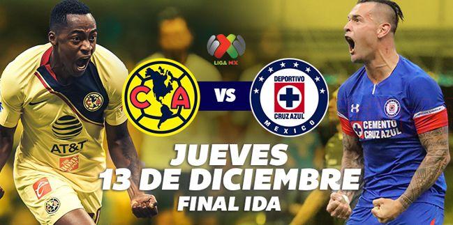 Ver América vs Cruz Azul, Final Liga MX A2018 ¡En vivo por internet!