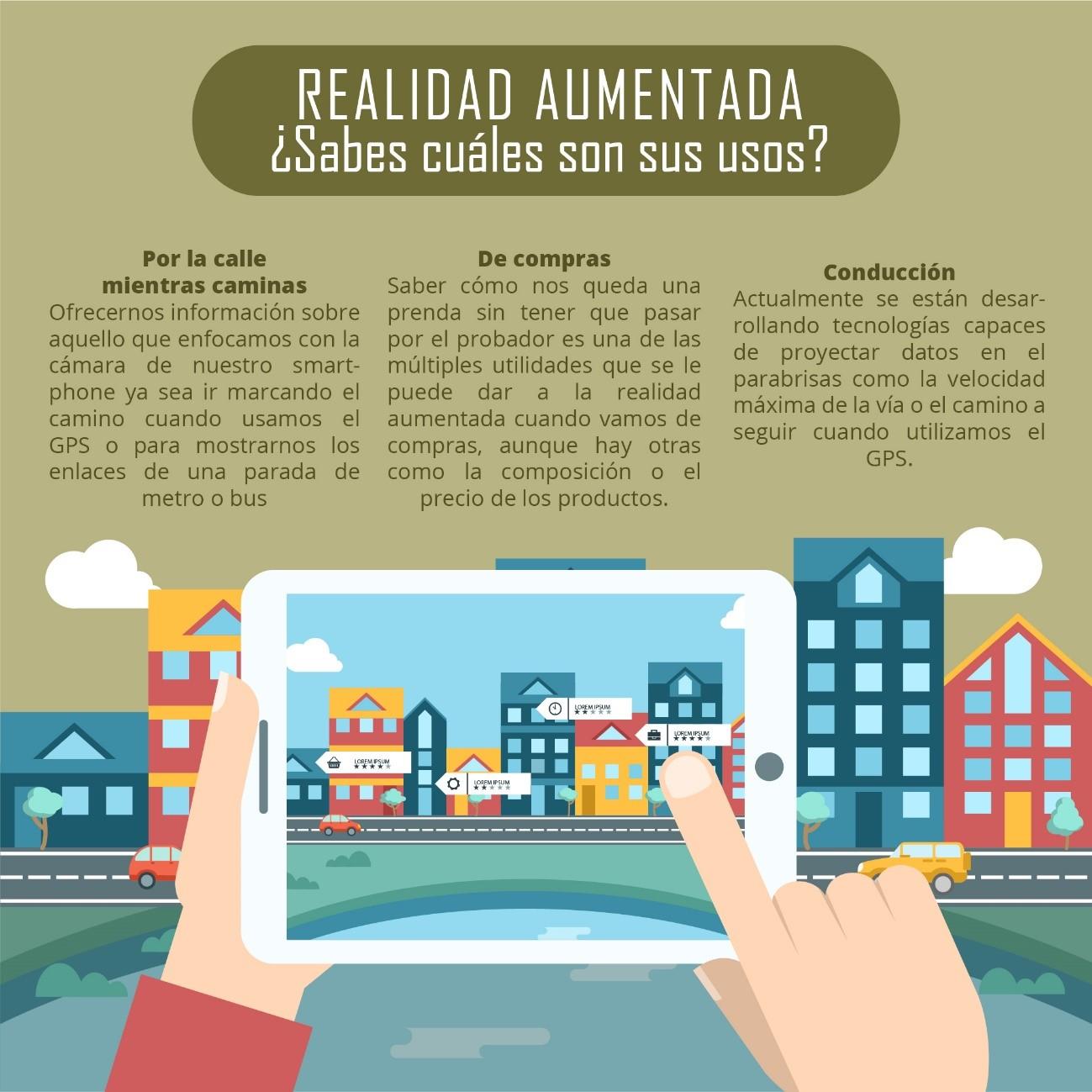 Aplicaciones de realidad aumentada que nos facilitan la vida
