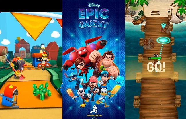 Disney Epic Quest: el nuevo juego de Disney para móviles