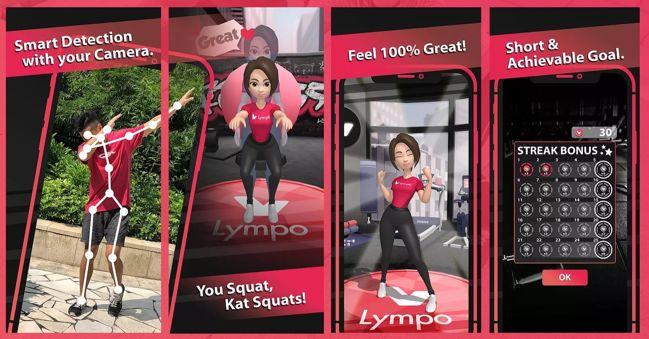 Lympo Squat: app que te paga en criptomonedas por hacer ejercicio