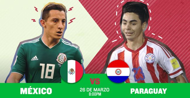 Cómo y cuando ver México vs Paraguay ¡En vivo por internet!