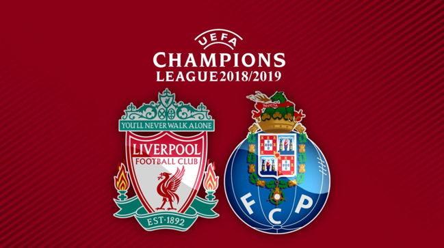 Ver Liverpool vs Porto en vivo, Cuartos de Final de la Champions League