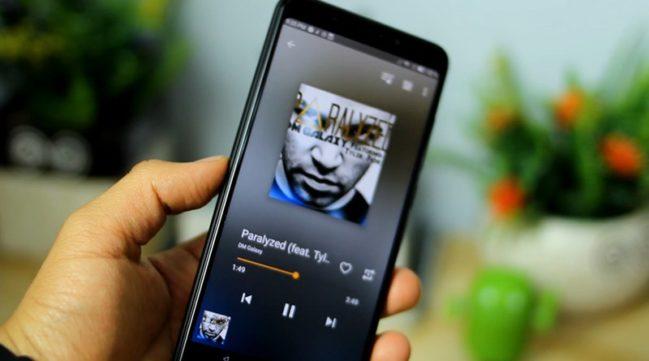 controlar la música en Android