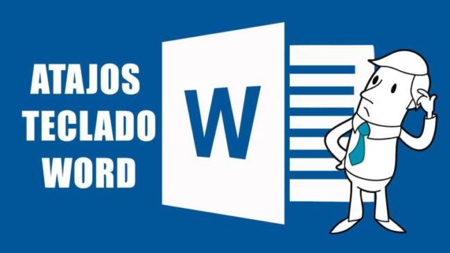 atajos del teclado para Microsoft Word
