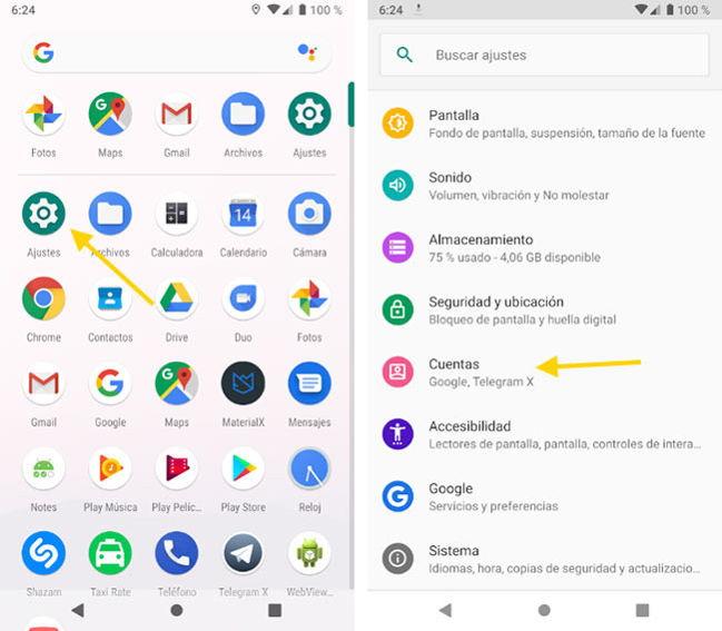 Cómo quitar una cuenta de Google de cualquier móvil Android