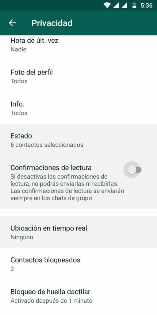 Cómo activar el bloqueo por huella dactilar de WhatsApp