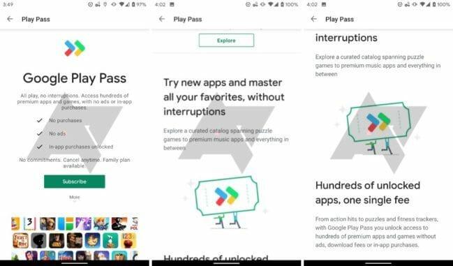 Google Play Pass es un nuevo servicio de suscripción que llegará pronto