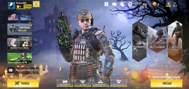 Cómo crear y jugar una partida privada en Call Of Duty Mobile