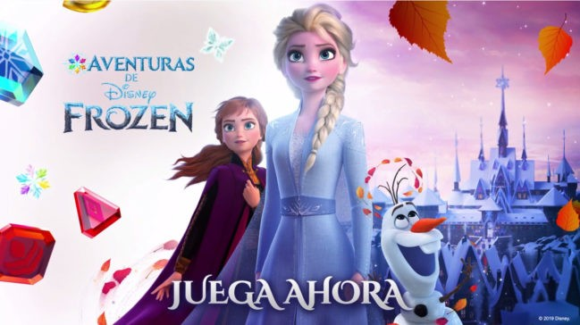 Aventuras de Disney Frozen, llega la nueva apuesta de Disney para móviles