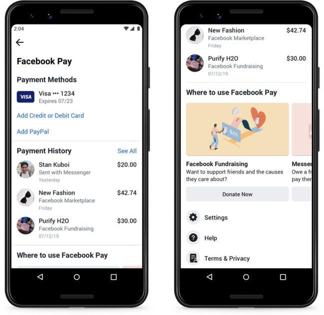 ¿Qué es y como funciona Facebook Pay?