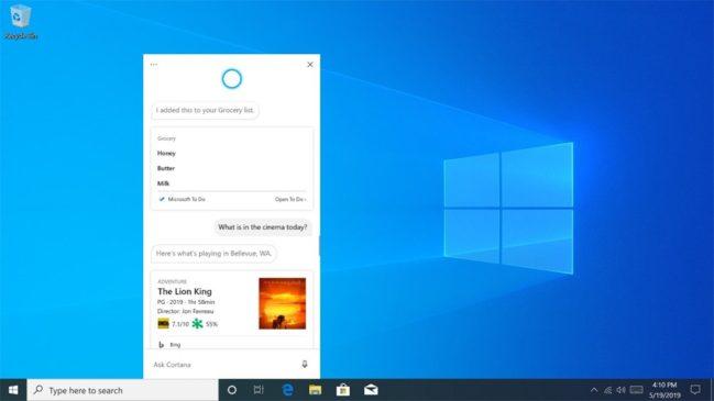 "Microsoft ""mata"" su asistente virtual Cortana"
