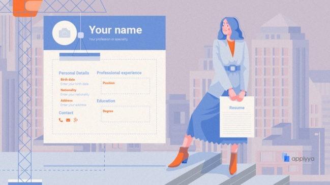 Como arma un bonito currículum online gratis con Applyya