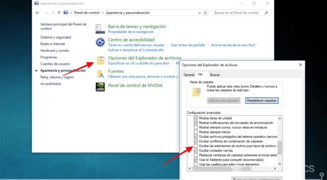 Cómo cambiar la extensión de un archivo en Windows 10
