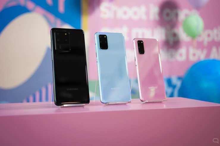 Samsung Galaxy S20, Galaxy S20+ y Galaxy S20 Ultra: todos los detalles quedan a la vista