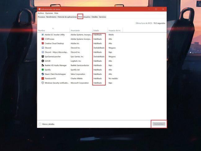 Como hacer que Windows inicie más rápido sin programas