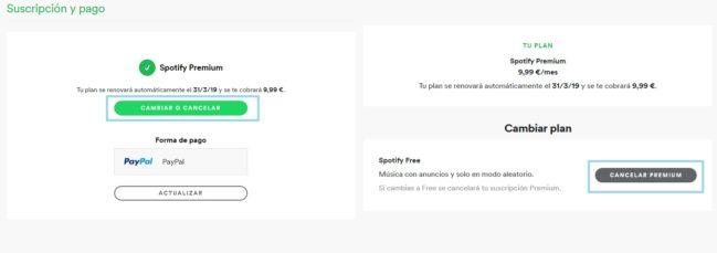 ✅Cómo cancelar una cuenta Premium de Spotify