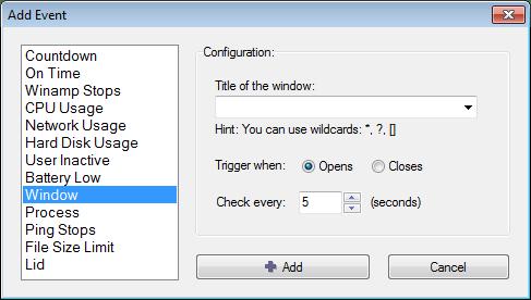 Cómo programar tareas sencillas en Windows con Shutter