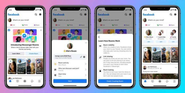 Messenger Rooms: qué es y como funciona
