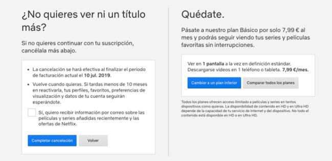 ▷ Cómo cancelar tu suscripción a Netflix