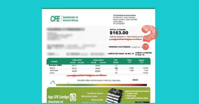 ▷ Cómo pagar tu recibo de luz sin salir de casa 【CFE】