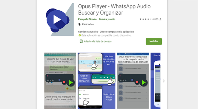 Cómo guardar o descargar audios de WhatsApp en tu Android o iPhone