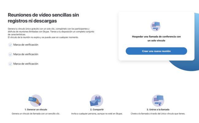 😨¡Cómo hacer una videollamada grupal gratis en Skype sin tener cuenta!