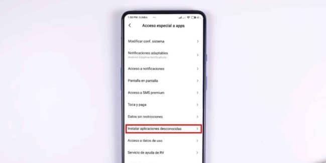 Cómo instalar aplicaciones desconocidas en Android