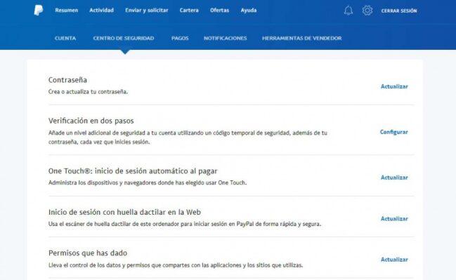 ✅Cómo desactivar los pagos automáticos de One Touch en Paypal