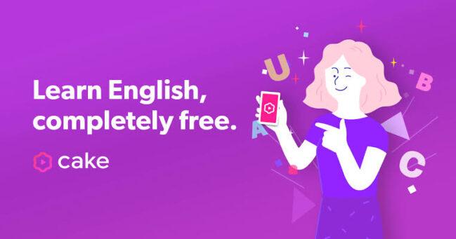 Cake: una app para crear vídeos practicando el inglés