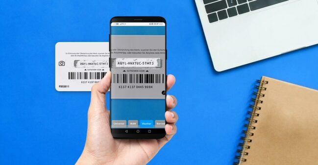 Anyline Keyboard: escanear texto en vez de teclearlo